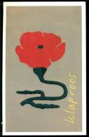 Nederland 2004 Ansichtkaart Klaproos Met Toepasselijke Postzegel - Unclassified