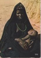 AFRIQUE,AFRICA, MAURITANIE,ex Colonie Française,prés Algérie,FEMME AVEC SON FILS - Mauritania
