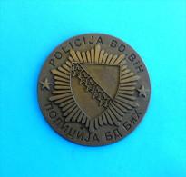 POLICE OF BRCKO DISTRICT - BOSNIA AND HERZEGOVINA * Plaque * Gendarmerie Gendarmeria Policia Polizei Polizia - Police