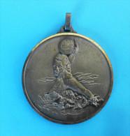 WATER POLO - Croatian Medal * Waterpolo Wasserball Water Polo Pallanuoto Polo Acuático Medaille Medaglia Medalla Medalha - Swimming