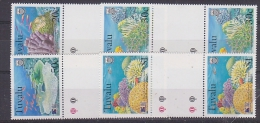 Greenpeace 1999 Tuvalu Corals 4v Gutter  ** Mnh (27660) - Tuvalu
