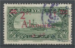 Alaouites (French Syria), Overprint 2pi/1pi25, Latakia Harbour, 1926, VFU - Alaouites (1923-1930)