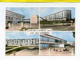 CHEVILLY LARUE - Cité Des Sorbiers ( Archit. : Mr Roger Michaux )  Postée 1964   Edit Cim N°25C .  Immeubles, Ecoles. - Chevilly Larue