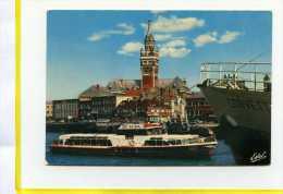 Dunkerque.  La Visite Du Port. Elsa : Bateau Promenade.   Postée 1978 - Dunkerque