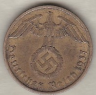 10 Reichspfennig 1937 A (BERLIN) Bronze-aluminium - [ 4] 1933-1945 : Troisième Reich