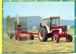 Tracteur International 1046 + Ensileuse 545 - Tracteurs