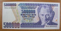 AC - TURKEY - 7th EMISSION 500 000 TL H 01 000 943 UNCIRCULATED - Turkey