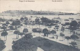 Brasil Rio De Janeiro - Praça 15 De Novembro (tram Tramway, 1919) - Rio De Janeiro