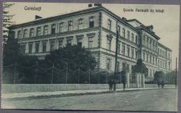 CERNAUTI  CZERNOWITZ  Chernivtsi Historical Romania  Scoala Normala De Baieti About 1922y.  C38 - Ukraine