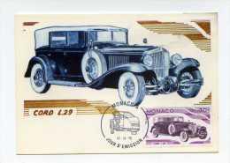 Cord L.29 Premier Jour 1975 Monaco .  Theme Automobile - PKW