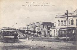 Brasil - Etat De Minas Geraes - Bello Horizonte - Avenue (animation, Tram, Tramway) - Brésil