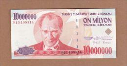 AC - TURKEY - 7th EMISSION 10 000 000 TL H UNCIRCULATED - Turquie