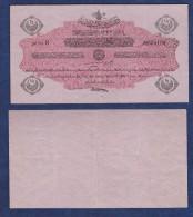 AC - OTTOMAN TURKEY - 1327 - 1336 MEHMED RESAT 1 / 2 LIRA N 604 109 - Turkije