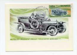 Rolls -Royce 1907  - Silver Ghost Premier Jour 1975 Monaco .  Theme Automobile - PKW