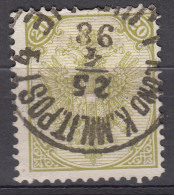 Austria Feldpost Occupation Of Bosnia 1879 Mi#8 II Used - 1850-1918 Imperio