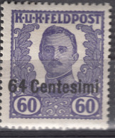 Austria Feldpost Occupation Of Italy 1918 Mi#XI Mint Hinged - 1850-1918 Imperio