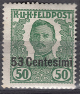 Austria Feldpost Occupation Of Italy 1918 Mi#X Mint Hinged - 1850-1918 Imperio