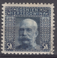 Austria Occupation Of Bosnia 1906 Mi#44 Perforation 9 1/4 Used - Used Stamps