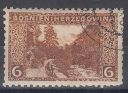 Austria Occupation Of Bosnia 1906 Mi#33 Perforation 9 1/4, Used - Used Stamps