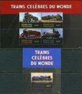 Togo 2014. Michel #?+Bl.#? MNH/Luxe. Trains (Ts25) - Togo (1960-...)