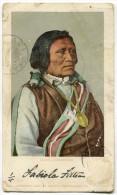 CARTOLINA YAMAI A UTE RUNNER INDIANER INDIANI AMERICA VIAGGIATA - Indiani Dell'America Del Nord