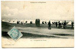 COËTQUIDAN (56) - Camp Militaire, Vue Sur Les Tentes - France