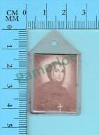 Reliquaire De Poche -  Relique De : Sainte Marguerite D'Youville  -Tissu Touché Ossements  - 2 Scans - Religione & Esoterismo