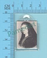 Reliquaire De Poche -  Relique De : Venerable Jeanne Mance - Tissu Touché Testament Olographe   - 2 Scans - Religion & Esotérisme