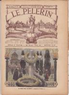 LE PELERIN  3 Novembre 1901 La Prière Pour Les Morts, L'ouvrier Mouleur Guillot Retourne Au Travail, - 1900 - 1949