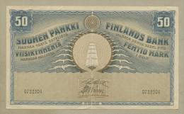 FINLAND - 50 Markkaa  1918  P39 Choice Very Fine+  ( Banknotes ) - Finlande