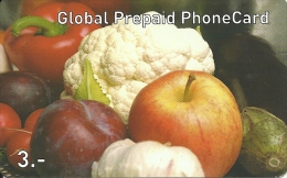 Prepaid: Global - Früchte Und Gemüse - Schweiz