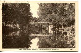 BOURGANEUF (23) - Pont Métallique Montalescot Sur Le Thaurion - Bourganeuf