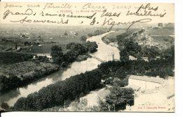 BEZIERS (34) - Vue Sur La Rivière De L'Orb - Beziers
