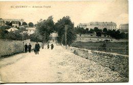 GUERET (23) - Promeneurs Dans L'avenue Fajol - Guéret