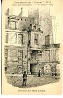 PARIS IVe - Dessin De L'intérieur De L'Hôtel Lauzun - Arrondissement: 04