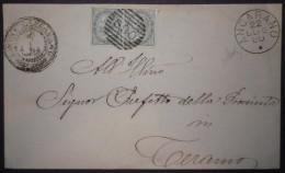 ANNULLI NUMERALI ABRUZZO: NUMERALE ANCARANO Teramo - 1861-78 Vittorio Emanuele II