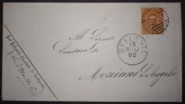 ANNULLI NUMERALI ABRUZZO: NUMERALE BELLANTE Teramo - 1878-00 Umberto I