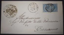 ANNULLI NUMERALI ABRUZZO: NUMERALE BISENTI Teramo - 1861-78 Vittorio Emanuele II