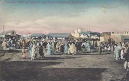 Larache - Vista Que Ofrece El Soco De Fuera Durante Una Fiesta Mora - Otros