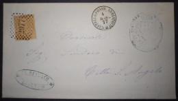 ANNULLI NUMERALI ABRUZZO: NUMERALE CASTELLAMMARE ADRIATICO Teramo Da Spoltore - 1861-78 Vittorio Emanuele II