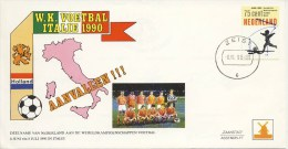 Philato Envelop: WK Voetbal Italië 1990 - Periode 1980-... (Beatrix)