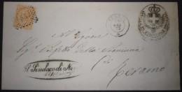 ANNULLI NUMERALI ABRUZZO: NUMERALE NERETO Teramo - 1861-78 Vittorio Emanuele II