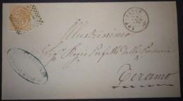 ANNULLI NUMERALI ABRUZZO: NUMERALE NOTARESCO Teramo - 1861-78 Vittorio Emanuele II
