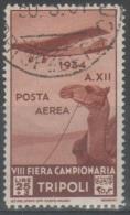 Libia 1934 - Fiera Di Tripoli 25+3 L. P.a.     (g4945) - Libya