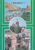"""Poland 56098 Reszel Fragment Rynku. Gotycki Kosciol Parafialny. Gotycki Zamek Biskupów WarmiÅ""""skich Unposted - Polonia"""