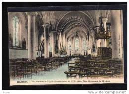 62 SAMER    Vue Intérieure De L'église (reconstruction Du XIIIè S. Fonts Bapitimaux Du XIès.) - Samer