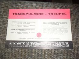 ANCIEN BUVARD / PUB  MEDICAMENT  TRANSPULMINE TREUPEL - Papeterie