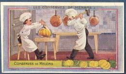 Chromo Au Planteur De Caiffa Conserves De Melons Melon Conserve Cuisiniers Cuisinier Carafe Marteau - Trade Cards