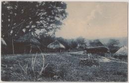 Postal Timor - Uma Povoação Indigena (Montanhas) - CPA - Carte Postale - Postcard - Timor Orientale