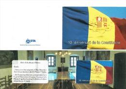 TELECARTE PHONECARD ANDORRA ANDORRE  CONSTITUTION AVEC BLISTER - Andorre
